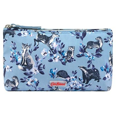 Cath Kidston [キャスキッドソン] 森の動物たち メイクアップバッグ コスメポーチ Badgers & Friends [並行輸入品]