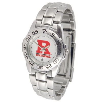 Rutgers Scarlet Knights GamedayスポーツLadies ' Watch with aメタルバンド