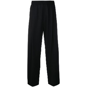 McQ Alexander McQueen loose fit tapered trousers - ブラック