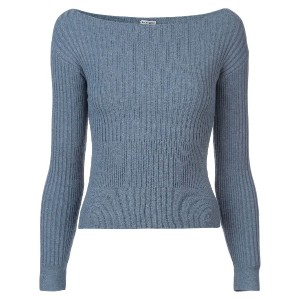 Rachel Comey Distend cropped sweater - ブルー