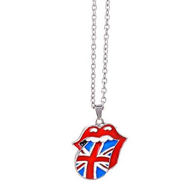 ROLLING STONES ローリングストーンズ - Union Jack Tongue Necklace/ネックレス 【公式/オフィシャル】