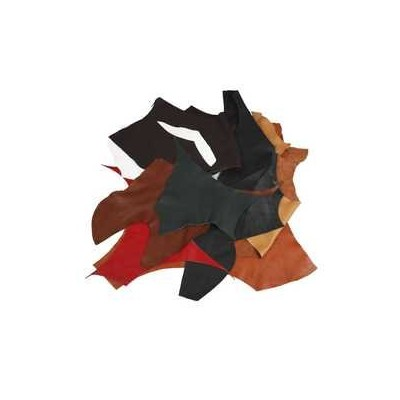 Real Leather, asstd colours, 2 kg