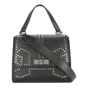 Bally studded tote bag - ブラック