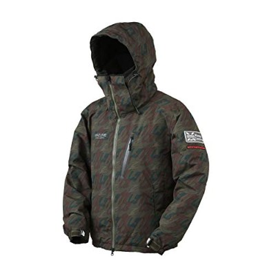MAZUME(マズメ) MZX TIDE MANIA ALL WEATHER JACKET POP III MZXFW-059-02 マズメグリーンカモ L