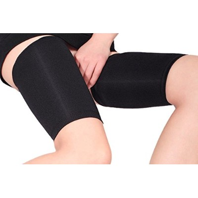 Shop Flash On The Treadmill Thigh Shaping Tension Relieving Sleeves Women's, Black, Large by Shop...