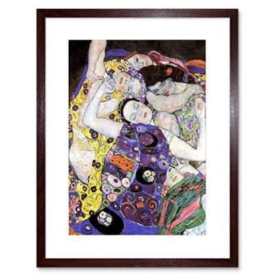Klimt Virgin Old Master Picture Framed Wall Art Print オールドマスター画像壁