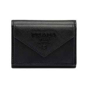 Prada Small Saffiano leather wallet - ブラック