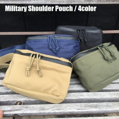 MILITARY SHOULDER POUCH/ミリタリーショルダーポーチ・4color