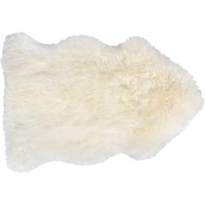 Genuine Sheepskin Rug ( 2ft X 3Ft ) Authentic New Zealand SingleペルトReal Sheep Fur Throw–Comes...
