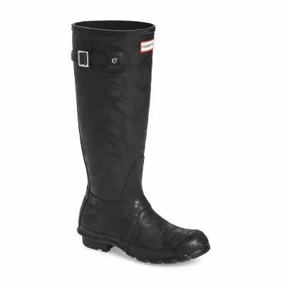 ハンター HUNTER レインシューズ・長靴 Original Knee High Rain Boot Black