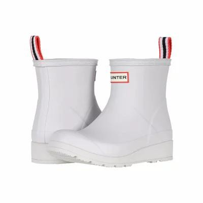 ハンター Hunter レインシューズ・長靴 Original Play Boot Short Rain Boots Hunter White