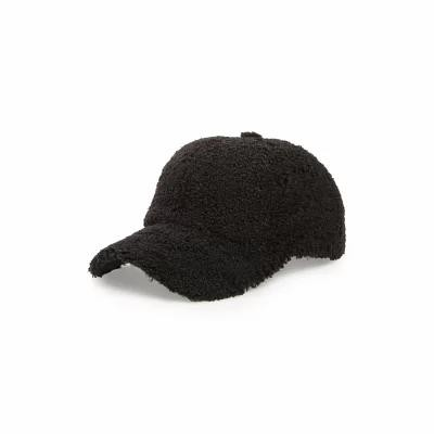 ソール ソサエティー SOLE SOCIETY キャップ Fleece Baseball Cap Black