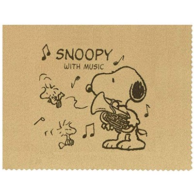 SNOOPY with Music スヌーピー SCLOTH-EU 楽器用クロス