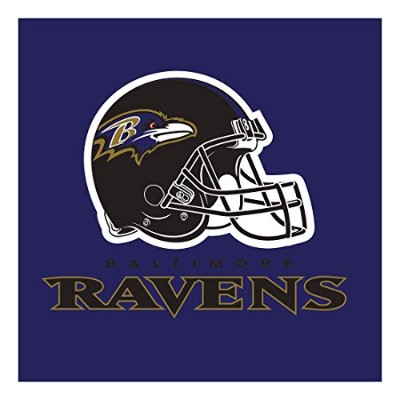 Creative Converting Officially Licensed NFL印刷プラスチックカップ、8-count、20-ounce、Baltimore Ravens パープル 669503