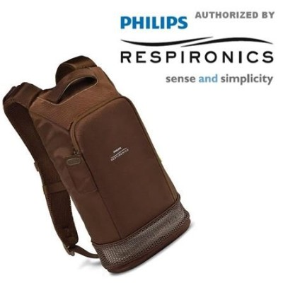 Philips Respironics SimplyGo Mini Backpack (Brown) by Philips Respironics
