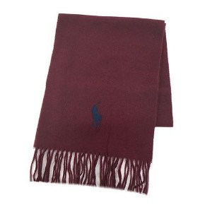 【POLO RALPH LAUREN】[5色展開]BIG PONY EMBROIDERED SCARF メンズ雑貨 その他メンズ雑貨 CLASSIC WINE au WALLET Market