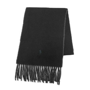 【POLO RALPH LAUREN】[6色展開]CLASSIC REVERSIBLE SCARF メンズ雑貨 その他メンズ雑貨 BLACK/CHARCOAL au WALLET Market