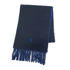 【POLO RALPH LAUREN】[6色展開]CLASSIC REVERSIBLE SCARF メンズ雑貨 その他メンズ雑貨 RL NAVY/RUGBY ROYAL au WALLET...