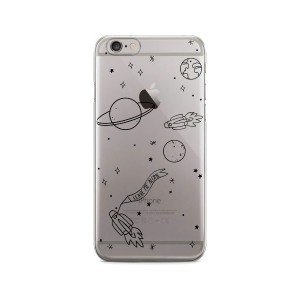 YEAH BUNNY iPhone 8/7対応 Space YB1059 CL パソコン・モバイル雑貨
