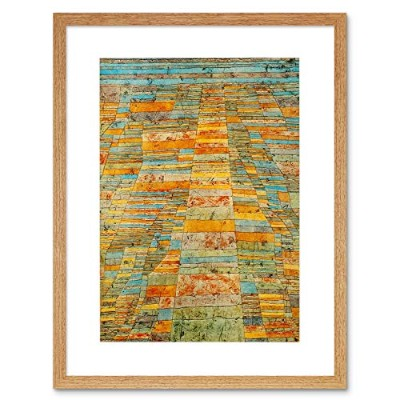 Paul Klee Highway Byways 1929 Old Master Framed Wall Art Print ポールオールドマスター壁