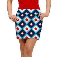 LoudMouth Ladies Blue Chip StretchTech Skort【ゴルフ レディース>スコート】