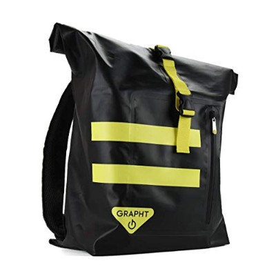 GRAPHT Team GRAPHT Shield Backpack for Arcade Stick バックパック アケコン/旅行用品を一括収納 大容量 33ℓ 【正規保証品】 TGR009-BK