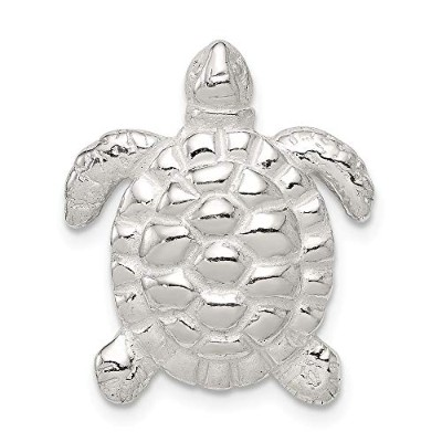 Beautiful Sterling silver 925 sterling Sterling Silver Turtle Charm comes with a Free Jewelry Gift