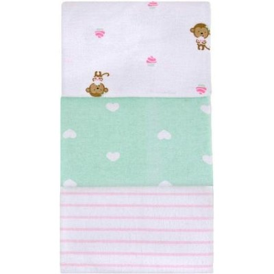 Child of Mine by Carter's 3Pack Flannel Receiving Blankets by Carter's