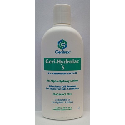 GERI-HYDROLAC LOT 5% OTC***GER 8 OZ by LAC HYDRIN FIV