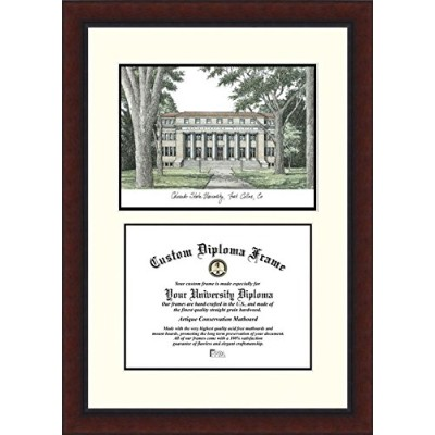 Campusimages CO999LV Colorado State University Legacy Scholar Diploma Frame