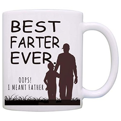 Dyshuai 11オンス おもしろコーヒーマグ 父の日ギフト 父親 父親 Ever Oops Meant Father Gag ギフト コーヒーマグ ティーカップ