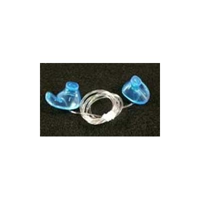 Medical Grade Doc's Pro Ear Plugs - Non Vented Blue or Pink - S, M, or L (Medium, Blue) by Doc's