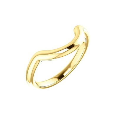 Beautiful Yellow-gold Wedding Band comes with a Free Jewelry Gift