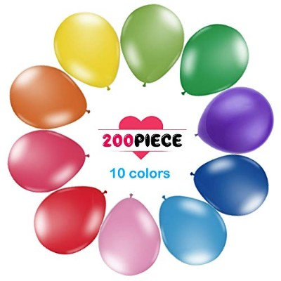 200 Count/Pack Balloons 30cm Multicolor Thicken Latex Balloons For Birthday /Party/Christmas...
