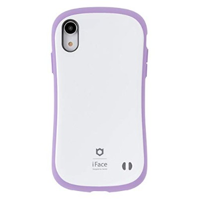 iFace First Class Pastel iPhone XR ケース [パープル]