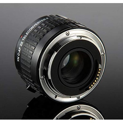 Lankdeals YONGNUO YN-2.0X II 2×Teleconverter Multi Coating Automatic focus EF Conversion Lens for...