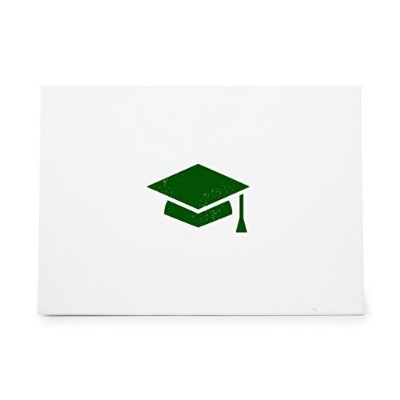 Graduation Cap Higher Ed University Style 7379, Rubber Stamp Shape great for Scrapbooking, Crafts,...