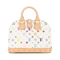 Louis Vuitton Pre-Owned Alma ハンドバッグ - ホワイト