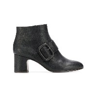 Chie Mihara buckled ankle boots - ブラック