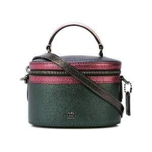 Coach Trail メタリックバッグ - グリーン