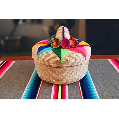 純正Mexican Handwoven Tortillero、フィエスタMexican Tortilla Warmer、Tortillaホルダー、Tortilla Keeper、tortilleros...