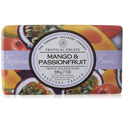 Tropical Fruits Mango & Passionfruit Triple Milled Soap 200g