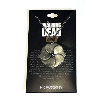 Walking Dead LootクレートExclusive Theチェロキーローズネックレス