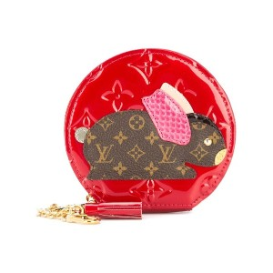 Louis Vuitton Pre-Owned Lapin コインケース - レッド