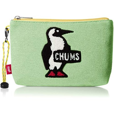 [チャムス]CHUMS Medium Pouch Sweat H/Lime