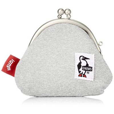 [チャムス]CHUMS Frog Coin Purse Sweat H/Gray