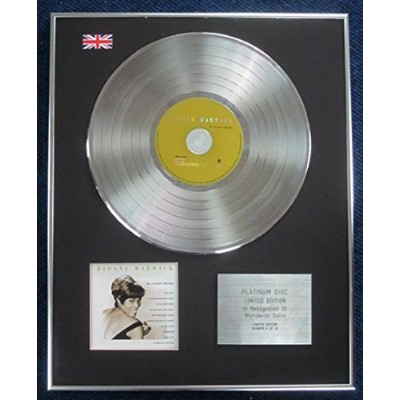 Dionne Warwick - Limited Edition CD Platinum LP Disc - Essential Collection