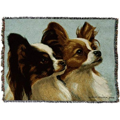 Pure Country 3308-T Deux Papillon Pet Blanket, Various Blended Colorways, 53 by 70-Inch by Pure...