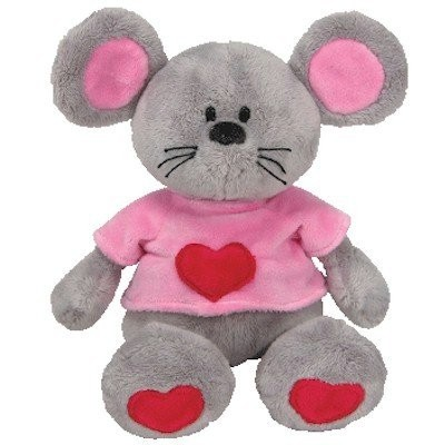Beanie Babies Pitter the Mouse 23cm Plush