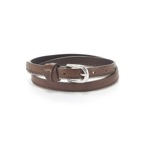 REPLAY Belts○AW2430000A3007 Faded black brown ファッション雑貨